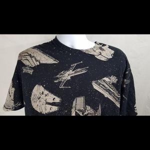 Star Wars Shirts - Star Wars Starships of Star Wars Shirt Mens 2X